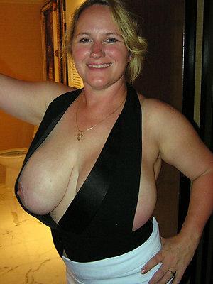 mature big tit sex posing unconcealed