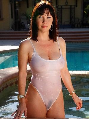 naughty busty mature bikini