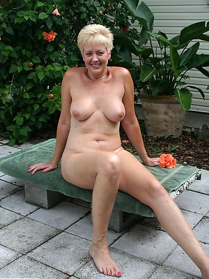 naughty mature blonde women
