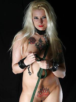 whorish tattooed grown-up women