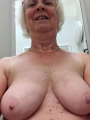 sexy elderly grandmas posing nude