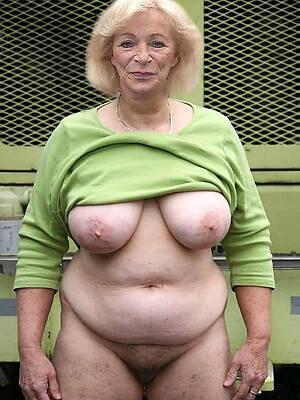 Photos naked old women Elderly Women