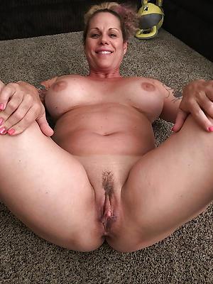 fantastic unshod natural of age women