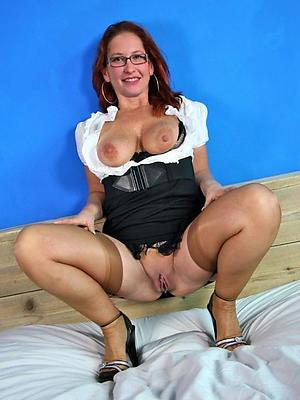 overweening heel matures posing nude