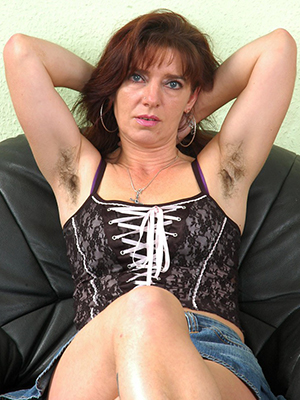 super-sexy unshaved mature women