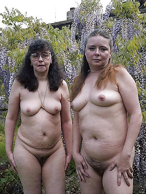 curvy unshaved mature women