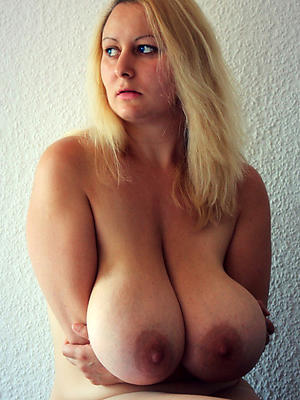 off colour mature lady boobs