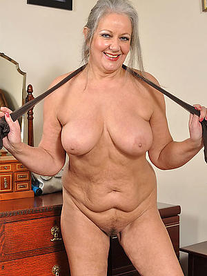 grandma nude stripped