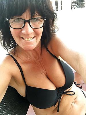 curious mature women in glasses