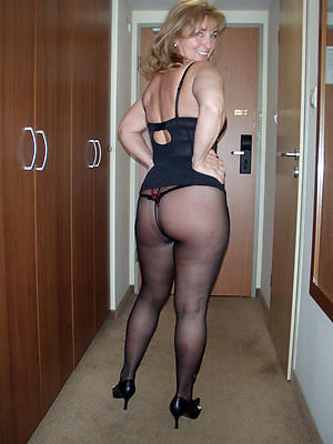 matures in nylons uncover