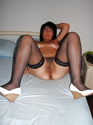 homemade matures in nylons stripped