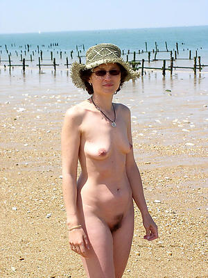 whorish mature on nude beach