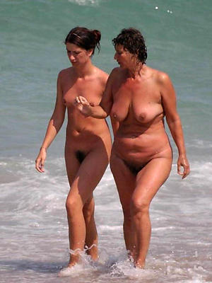 porn pics of naked mature seashore