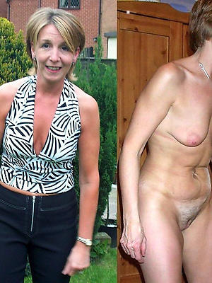 dressed undressed mature