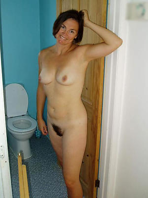 unshaved grown-up women posing nude