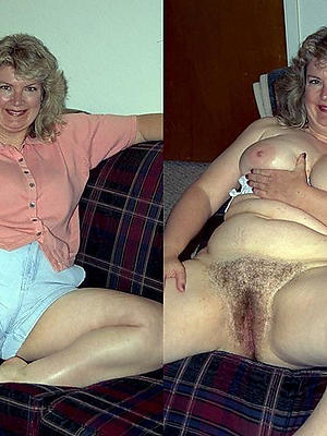 superb mature milf dressed undressed pics