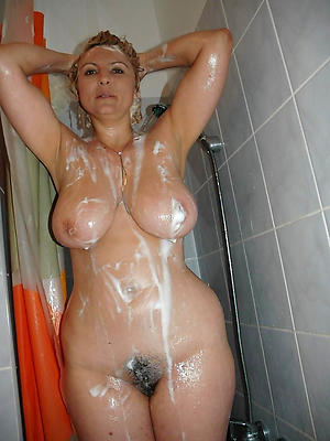 amateur milfs in the shower stripped