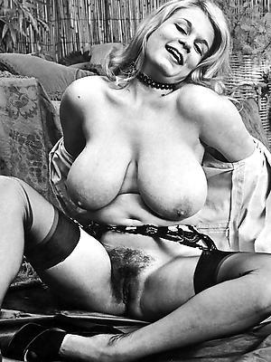 vintage mature pussy posing nude