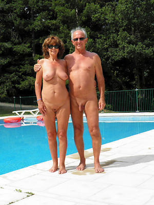 unclad mature couples picture