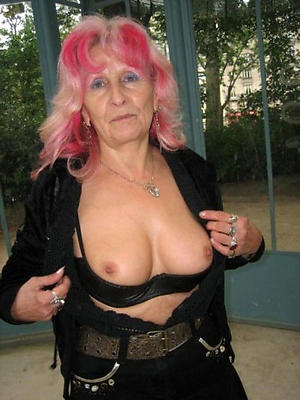 homemade experienced full-grown grannies stripped