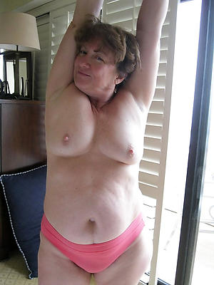 over 50 mature posing nude