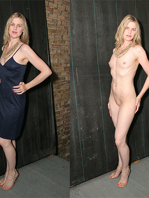 super-sexy dressed and undressed women