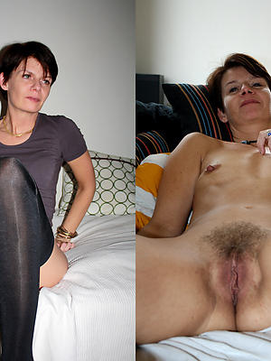 homemade mature dressed vs undressed