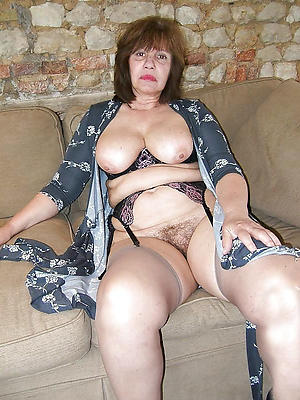 hot old women posing nude