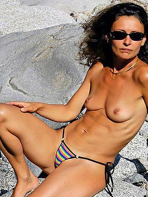 fantastic amateur mature bikini nude