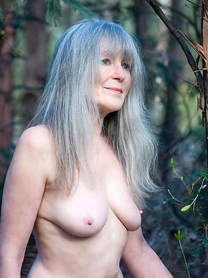 Naked older brunettes