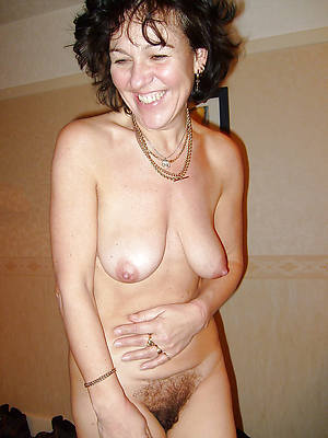 furry mature posing nude