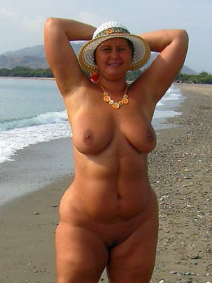 perfect mature nudist beach