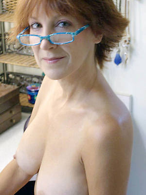 ridiculous mature with glasses nude veranda