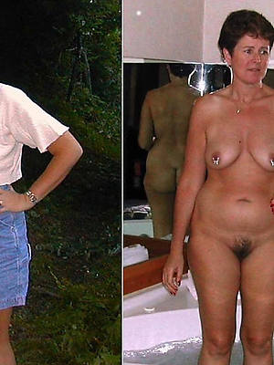 xxx free mature dressed undressed photo