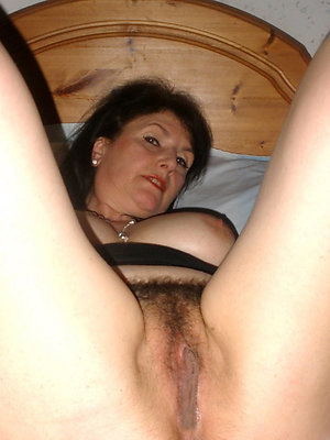 mature and hairy stripped