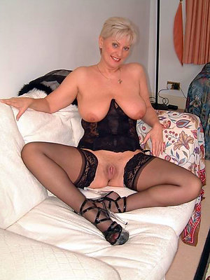 slutty undisguised mature body of men connected with high heels
