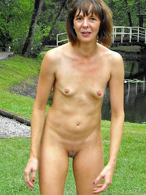 mature women with small tits