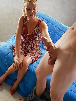 fantastic mature wife handjob cold pics
