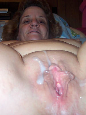colored maddened mature creampie pussy