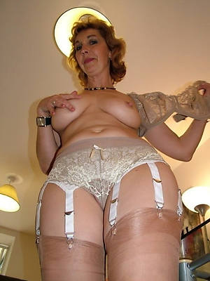 sexy mature lingerie stripped