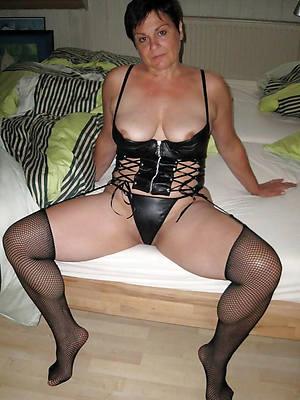 matures in lingerie