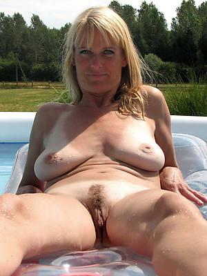despondent hot mature nude outdoors