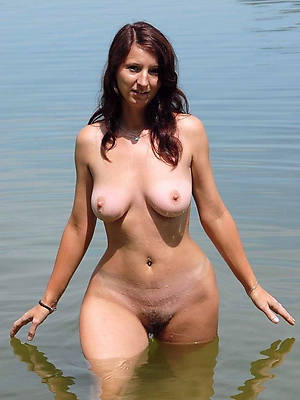 perfect naked beach mature pics