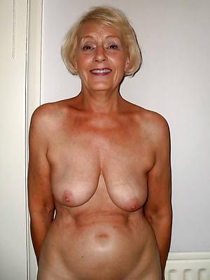 perfect older mature leafless women pics