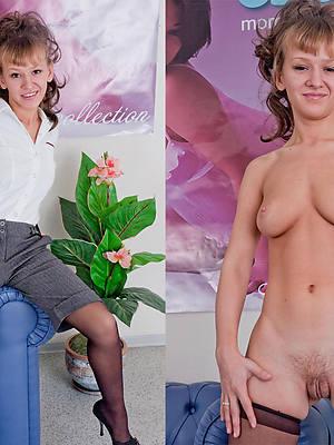 fantastic old women dressed undressed photos