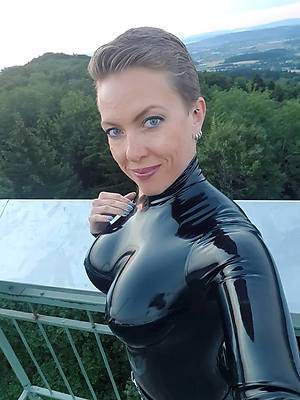slutty mature latex porn