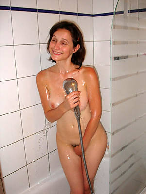wee mature in the shower nude photos