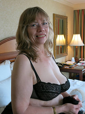 slutty mature with glasses photo