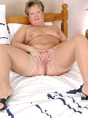 old mature women in one's birthday suit titties in one's birthday suit