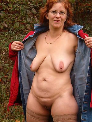 mature redhead wife titties nude